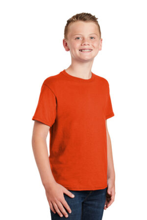 Gildan® – Youth DryBlend® 50 Cotton/50 Poly T-Shirt 10 Color